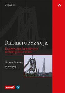 Refaktoryzacja 210x300 - Refaktoryzacja Ulepszanie struktury istniejącego koduMartin Fowler