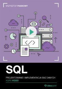 SQL 210x300 - SQL. Kurs video. Projektowanie i implementacja baz danych