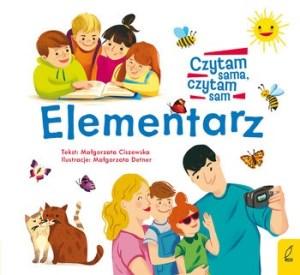 Elementarz 300x275 - Elementarz Czytam sama czytam sam Małgorzata Ciszewska