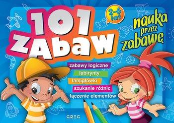 101 zabaw. Nauka przez zabawe - 101 zabaw - nauka przez zabawęEwa Sajek