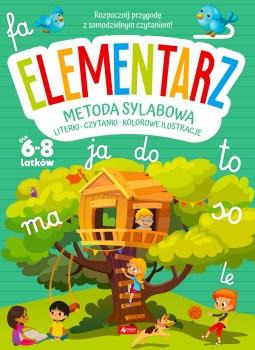 Elementarz dla dzieci metoda sylabowa - Elementarz dla dzieci metodą sylabową