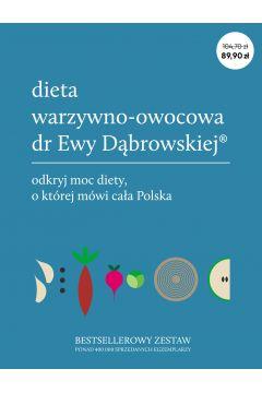 Pakiet Dieta warzywno owocowa - Pakiet Dieta warzywno-owocowa dr Ewy DąbrowskiejBeata Anna Dąbrowska Paulina Borkowska