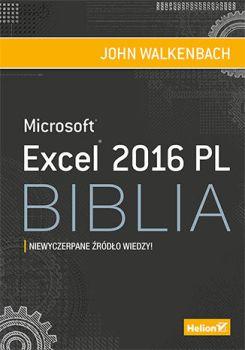 Excel 2016 PL - Excel 2016 PL BibliaJohn Walkenbach