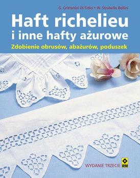 Haft richelieu - Haft richelieu i inne hafty ażurowe Zdobienie obrusów abażurów poduszek