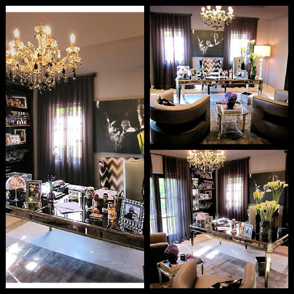Interiors I Love Khloe Kardashian's Office  Taniamaree