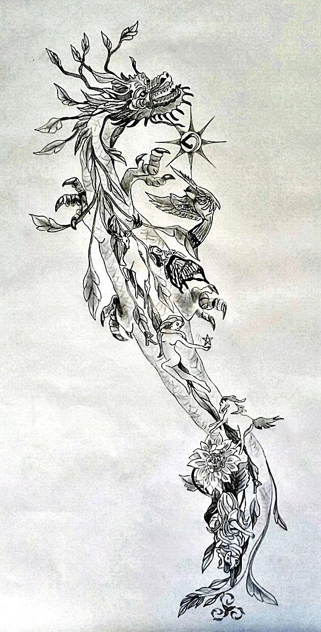 Mystic Tattoo Designs : mystic, tattoo, designs, Dragon, Tattoos, Tania, Marie