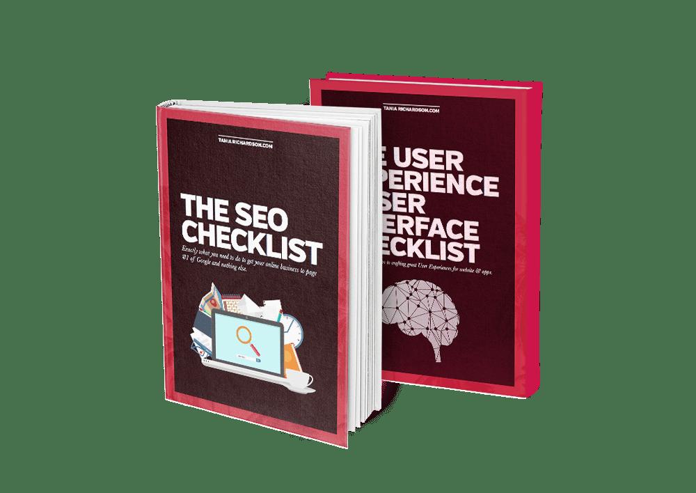 SEO User Experience Website Checklist.