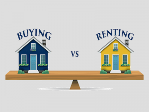 Rent vs buy.