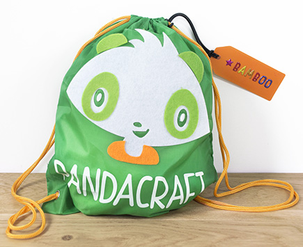 Kit Kermesse Pandacraft - Sac