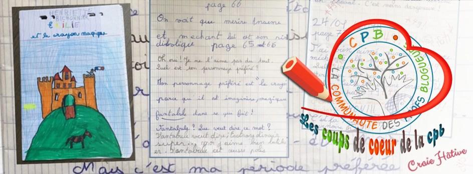 Coup de cœur CPB - Craie Hâtive - Journal dialogué