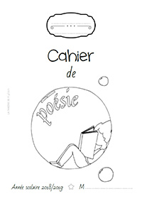 Page de garde 2018/2019 - Cahier de poésie