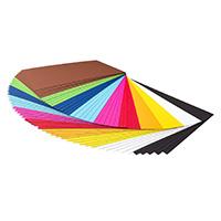 Du papier épais de couleur