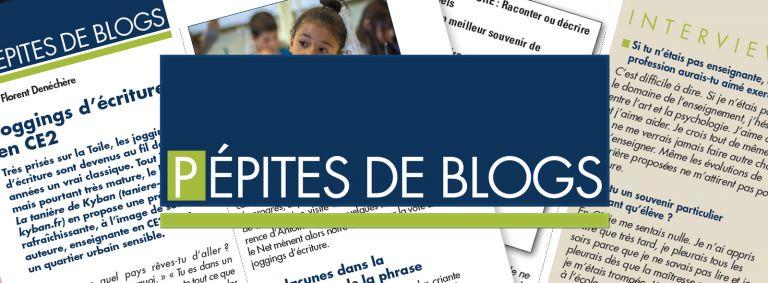 Pépites de blogs