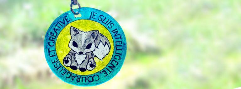 Cadeau porte-clés estime de soi pour la fin d'année