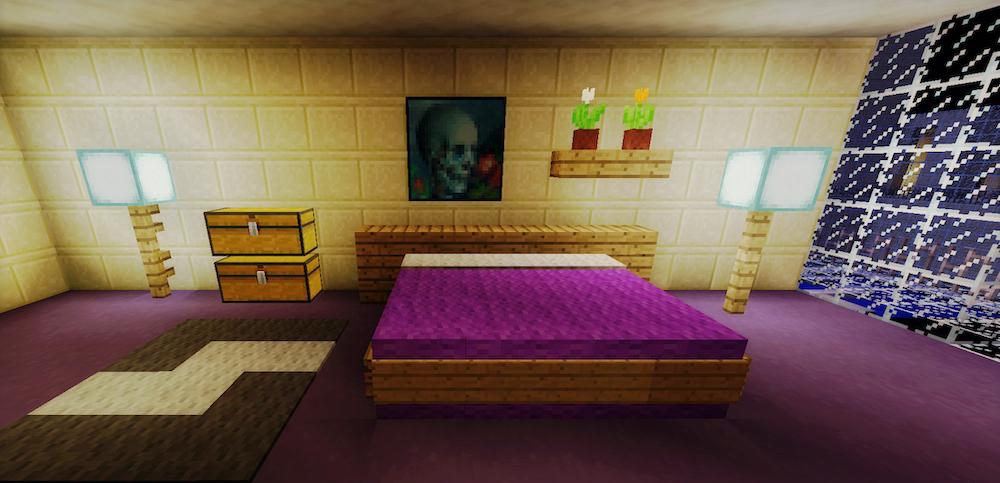 Bedroom Decoration Minecraft Novocom Top