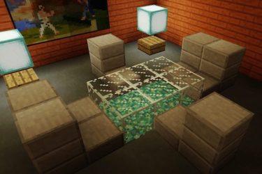 Minecraft Dining and Living Room Furniture Tanisha s Craft