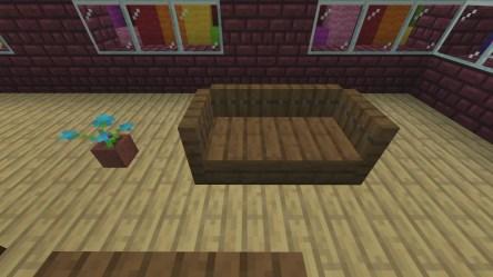 minecraft living dining furniture