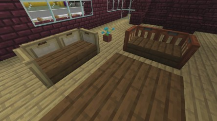 minecraft living dining furniture craft build