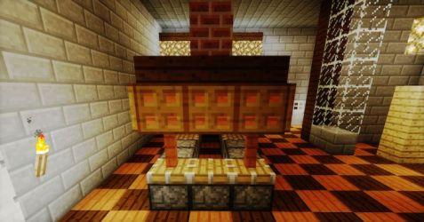 Minecraft Kitchen Furniture