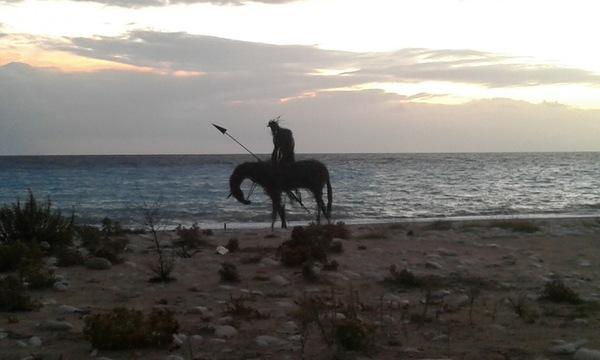 konjanik u borshu