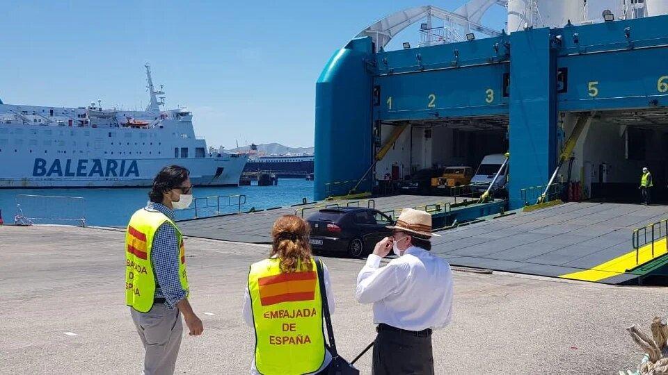 إسبانيا تُنظم رحلة بحرية جديدة لإعادة العالقين من طنجة