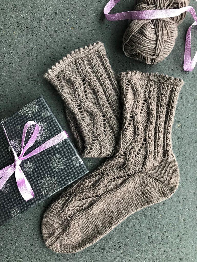 Wart ihr auch alle brav? - Advents-Socken zum Nikolaustag!