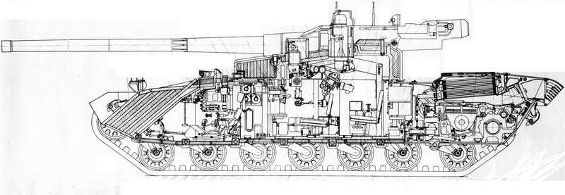 "More photos of 80's era Soviet ""Buntar"" tank revealed"