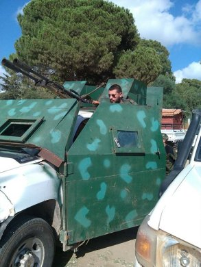 Armored pickup 4