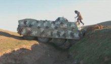 BTR with armor