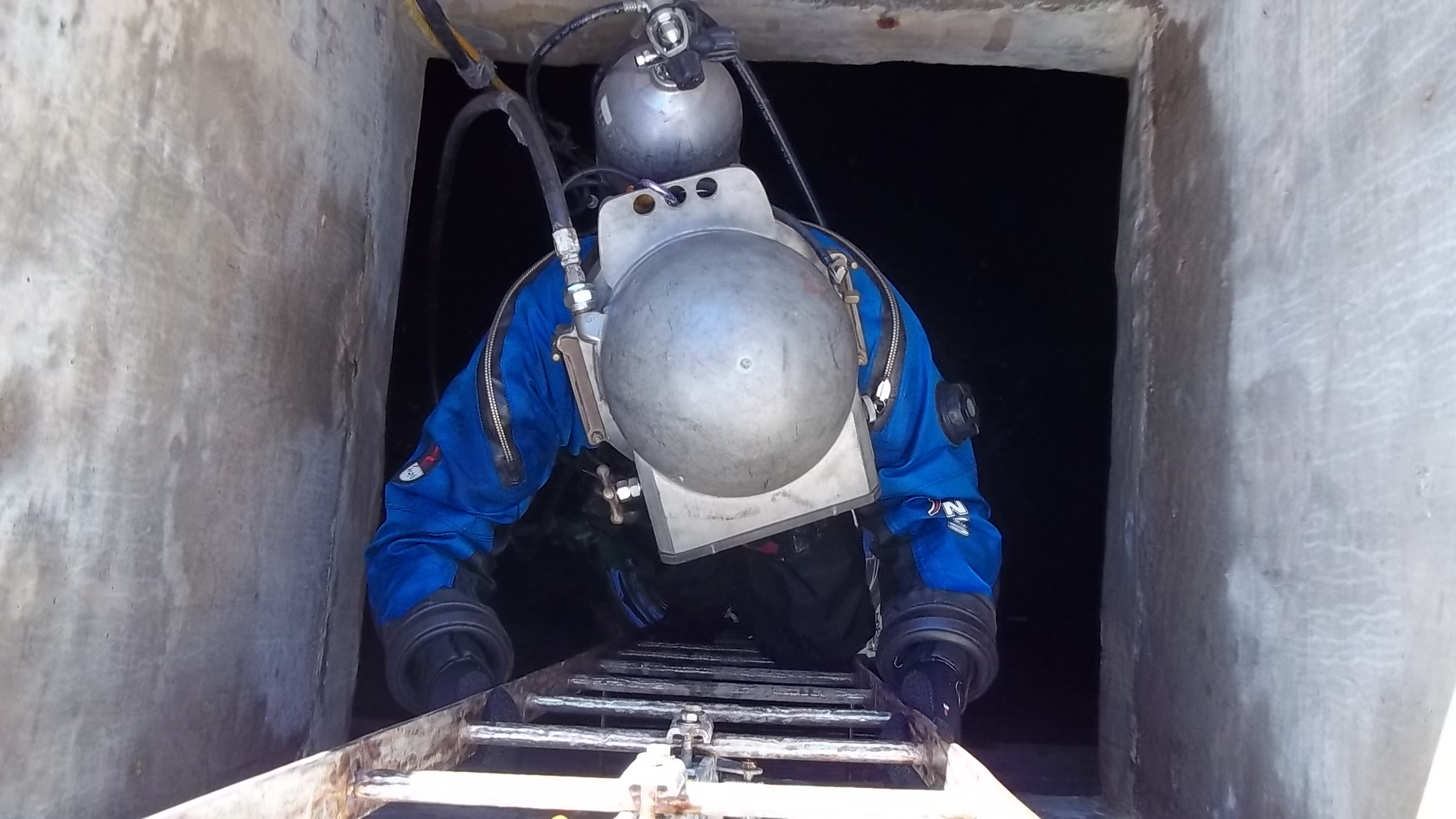 Potable Water Diver  Water Tower Inspector Wanted  The