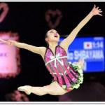 柴山瑠莉子(新体操)がかわいい!出身や身長・写真をチェック!