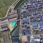 線路陥没原因は?東海道線(岡崎~西岡崎間)線路脇に8メートルの穴!