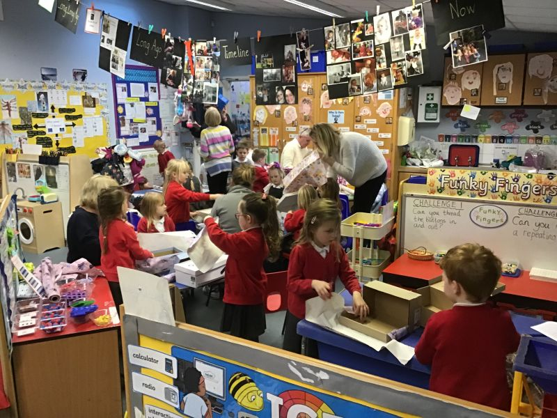 A FANTASTIC PARENT/CARER CHATTERBOX SESSION WITH THE SHINING STARS!