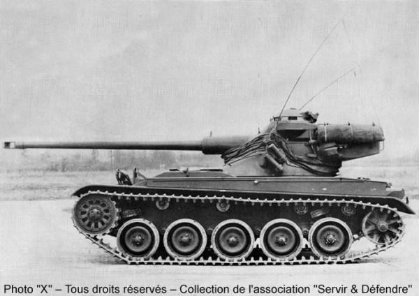 AMX-13/75 Modèle 51 (1952)