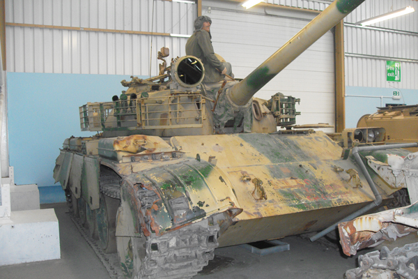 Iraqi Type 69-II Tank at Bovington