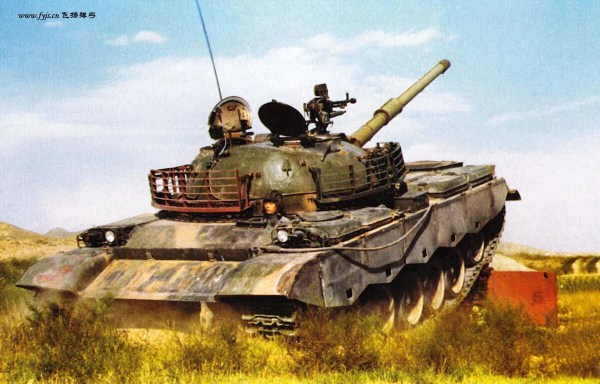 The Chinese Type 80-II Tank