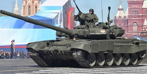 Russian T-90A Main Battle Tank