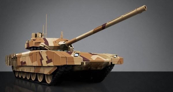 The Russian T-14 Armata Main Battle Tank