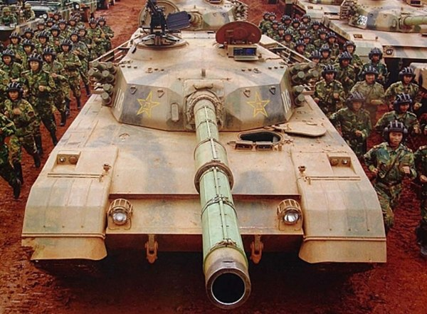 Chinese Type 85-IIM Tank