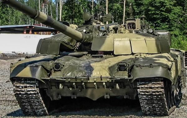 Russian T-72B2 Tank