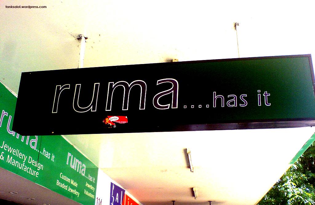 Ruma Has It