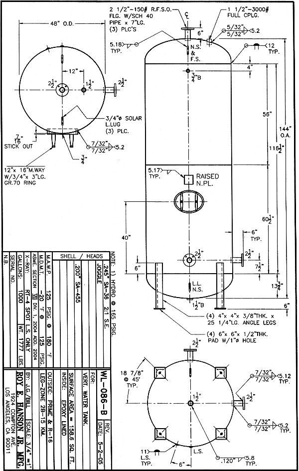 Water Storage Tank: Water Storage Tank Design Code