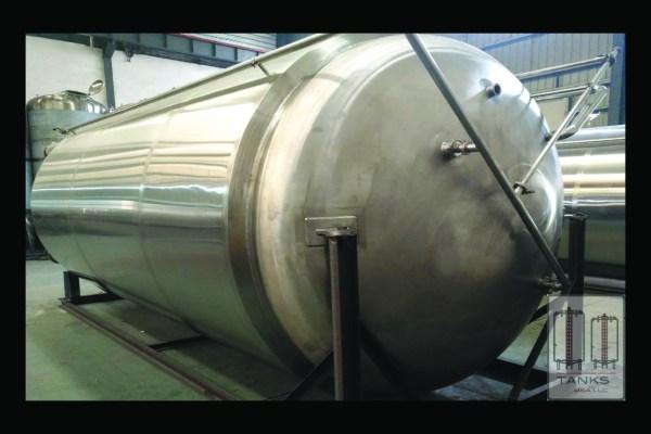 220 Barrel Stainless Steel Bright Tank