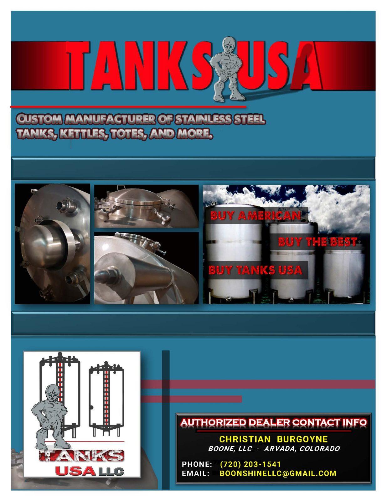 Tanks USA Brochure - Page 1