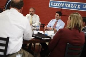 Dixon Valve host Paul Ryan