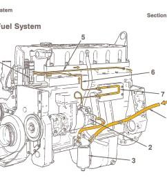 cummins fuel system flow diagram [ 2168 x 1314 Pixel ]