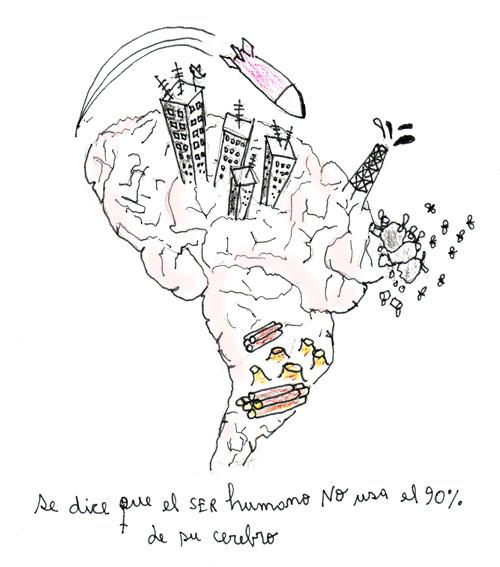 no usamos el 90% del cerebro