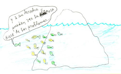 la base del iceberg