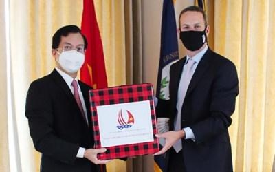 Việt Nam là đối tác ưu tiên phát triển chuỗi cung ứng của MỸ