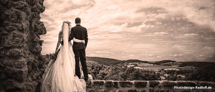 Hochzeit auf der lebendigen Burg